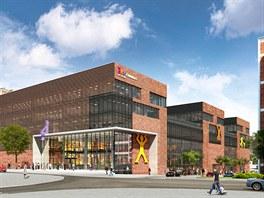 Místo budov 24, 25 a 26 vyroste obří komerční centrum Fabrika.
