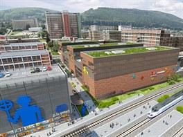 Obchodní centrum Fabrika v budoucnu bude mít velmi výhodou polohu, hned vedle...