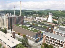 Velké komerční a společenské centrum má nahradit baťovské budovy 24, 25 a 26.