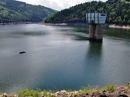 Přehrada Šance, ze které je pitnou vodou zásobováno Ostravsko.