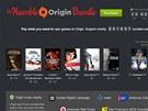 Balík Humble Origin Bundle uživatele nechává rozhodnout, kolik za něj zaplatí.