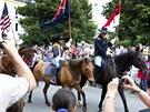 Příslušníci kavalerie dorazili do Benešova