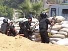 Po dvou hodinách egyptské ministerstvo vnitra oznámilo, že menší z obou...