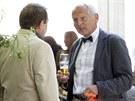 Na oslavu dorazil i kardiochirurg Jan Pirk (14. srpna)
