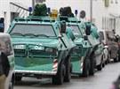 Radnice v bavorském Ingolstadtu je v obležení policejních jednotek (19. srpna...