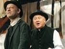 Jaroslav Satoransk� v divadeln� h�e Windsorsk� pani�ky v r�mci