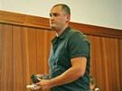 Obžalovaný Petr Hlava u Krajského soudu v Ostravě.