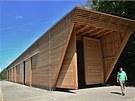 Architekt dřevěného depa Jiří Ondráček se inspiroval v Austrálii. A ve dřevu