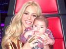 Shakira vzala syna Milana i do pr�ce