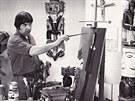 Alois Mikulka v roce 1976. Nyní slaví 80. narozeniny