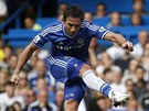 Frank Lampard z Chelsea proměnil svůj přímý kop proti Hullu v gól.