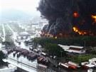 V neděli ve Venezuele hořela rafinerie. Již za dvě hodiny se hasičům podařilo...