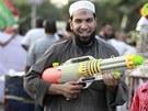BEZ NÁSILÍ. Obě strany egyptského konfilktu proklamují, že chtějí spor vyřešit