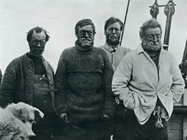 Polární výprava Ernesta Shackletona z roku 1914.