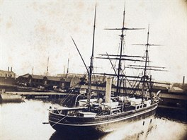 Discovery, která provázela na stejnojmenné expedici polárníky v letech 1901 až...