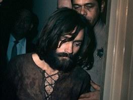 Charles Manson při zatčení
