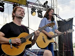 Open Air Music Festival Trutnov (Norbi Kovács a Ivan Hlas)