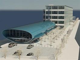 Součástí muzea bude i nově postavený futuristický objekt.