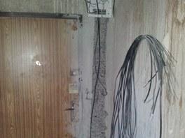 Frézování drážek pro elektroinstalaci