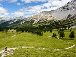 Údolí Val Minger, Swiss National Park