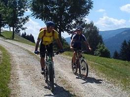 Na kole v Korutanech
