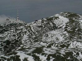 Vrchol hory Dobratsch