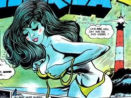 Nalézt originály komiksu Sylterella z roku 1970 asi bude velký oříšek. Vyšel
