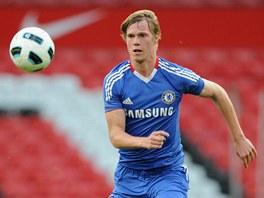 Tomáš Kalas v dresu londýnské Chelsea.