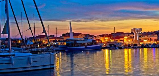 Chorvatsko, Vodice - přístav