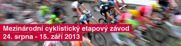 Mezin�rodn� cyklistick� etapov� z�vod 24. srpna - 15. z��� 2013