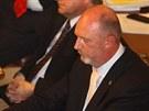 Poslanec Věcí veřejných Petr Skokan při jednání o rozpuštění Sněmovny (20....