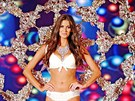 Celou show zakončila Miss ČR 2009 Aneta Vignerová se zlatou sněhovou vločkou na zádech.