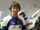 Tiskov� konference p�ed Grand Prix �R silni�n�ch motocykl�. Na fotografii Karel...