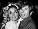 Roman Polanski a Sharon Tateová. Velkou lásku ukončil šílenec Charles Manson.