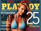 Americká herečka Jessica Alba se na obálce Playboye skvěla v březnu 2006.