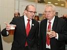 Prezident Miloš Zeman slavnostně zahájil 40. ročník mezinárodního agrosalonu...