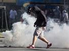 Poklidná demonstrace radikálů v Ostravě se přeměnila v pouliční válku. (24....