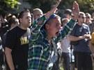 Bohužel, jen u skandování a silných slov v sobotu v Ostravě nezůstalo. (24.