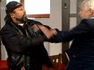Mezi osmi očima došlo mezi Lubošem a Mirkem ke rvačce.