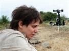 """Natáčení filmu """"8 hlav šílenství"""" v Kašticích na podbořansku, Aneta Langerová..."""