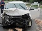 Vážná dopravní nehoda u Týniště nad Orlicí (20. 8. 2013)
