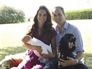 V�voda a v�vodkyn� z Cambridge se synem Georgem a psy
