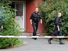 incident mezi manželi se odehrál ve středu odpoledne v paneláku v Sokolovské...