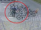 Muž přijel k uherskohradišťskému akvaparku na kole, odjel odsud na lepším.