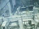 Historický snímek ze stavby strojovny přečerpávací vodní elektrárny Dlouhé