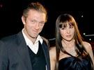 Vincent Cassel a Monica Bellucci (19. listopadu 2005)