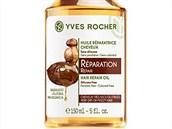 Regenerační olej na poškozené vlasy obsahuje mimo jiné blahodárný olej z...