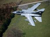 Britské stroje Tornado.