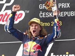 Karel Hanika, vítěz Rookies Cupu při Velké ceně České republiky.