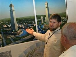 Čečenský prezident Ramzan Kadyrov schválil v Grozném navzdory hrozbě...